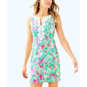 Lilly Pulitzer Gabby Shift Dress Raz Berry Catty